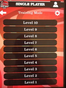 The Training Mode Has 10 Levels