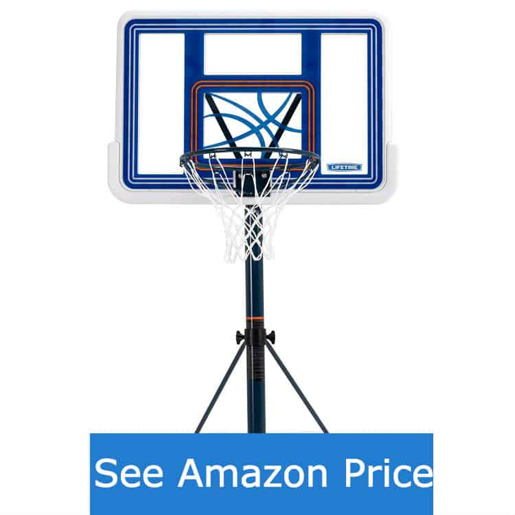 lifetime pool basketball hoop - best pool basketball hoops