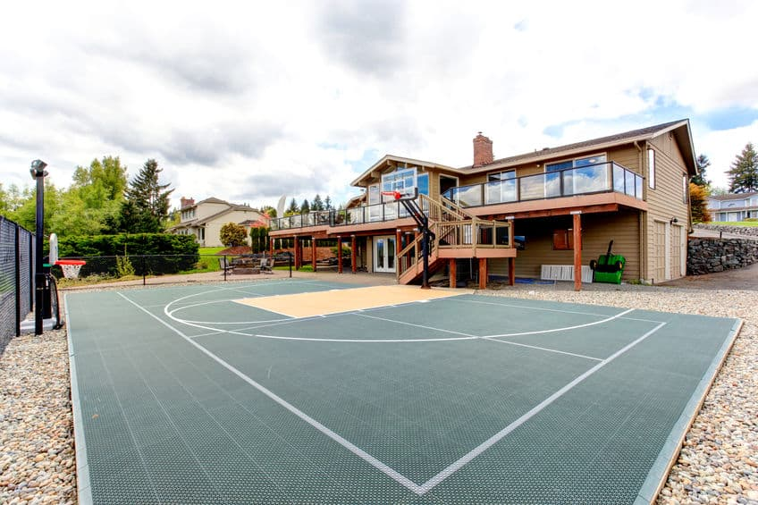 Backyard Basketball Court Cost